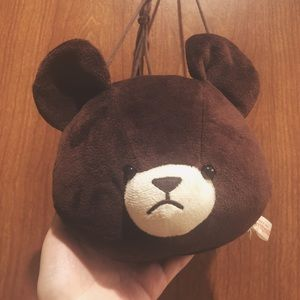 Sekiguchi Brown Bear Coin Purse / Mini Purse